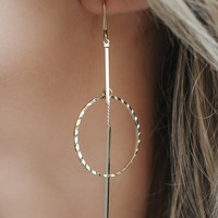 Came Back To You Earrings - Gold