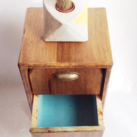 New Handmade Mid Century Bedside Table, Chest Of Drawers, Nightstand, Made To Order