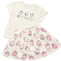 PASTEL STRAWBERRY SET from foreveronline