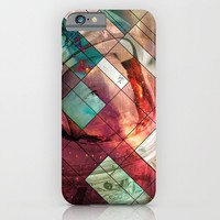 Space stained glass iPhone & iPod Case by Tony Vazquez