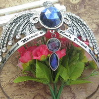 Harry potter HP Vintage-Style  ravenclaw crown horcrux (DIY Diamond Color )