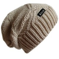 Frost Hats M-113NF Winter Hat for Women Slouchy Beanie Chunky Frost Hats