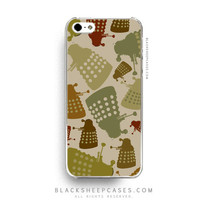 Doctor Who Dalek Camouflage iPhone 6 Case - iPhone 5 5s 5c 4 4s Samsung S5 S4 S3 Case from Black Sheep Cases