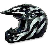 AFX Youth FX-17Y Flag Full Face Motorcycle Helmet
