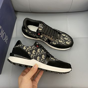 Dior men's New Fashion Casual Shoes Sneaker Sport Running Shoes 07069