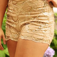 Every Night Sky Shorts: Gold