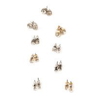 FOREVER 21 Faux Stone Stud Set