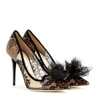 jimmy choo - duchess lace pumps