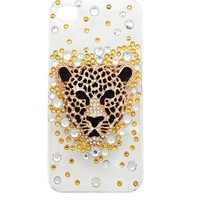 Rhinestone Panther iPhone 5 Case: Charlotte Russe