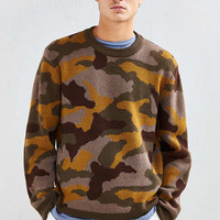 UO Classic Pattern Crew Neck Sweater - Urban Outfitters