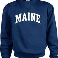 Maine Blackbears Kids/Youth Perennial Crewneck Sweatshirt