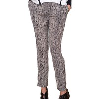 Trunk Show Trouser Pants - Black/Taupe