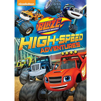 Blaze and the Monster Machines: High-Speed Adventures DVD