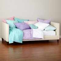 Silhouette Upholstered Daybed (Cream/Hot Pink) in Beds   The Land of Nod