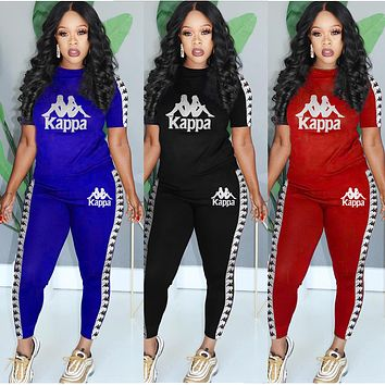 Kappa New hot selling casual sports suit Three Color Optional