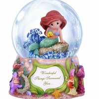 Precious Moments Disney Ariel Waterball