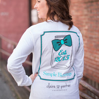 Claire Parker Long Sleeve Simple Blessings Tee