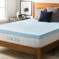 3-inch Gel Memory Foam Mattress Topper - Queen