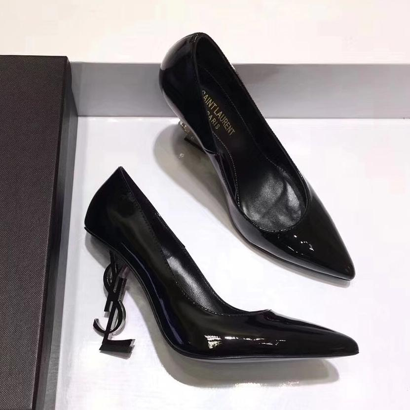 Image of YSL Yves Saint laurent Women Fashion Casual High Heels Shoes