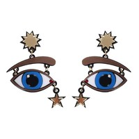 Yazbukey - Starry eyed earrings - VALERY DEMURE