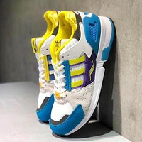 Adidas Consortium ZX 10.000 Fashion Women Men Casual Sport Running Shoes Sneakers