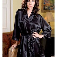 iCollection Lingerie All Of Me Satin Robe