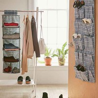 Gridlock Hanging Shoe Rack