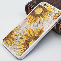 sunflower iphone 6 case,wood grain flower iphone 6 plus case,vivid flower iphone 5s case,gift iphone 5c case,best iphone 5 cover,sunflower iphone 4s case,classical flower iphone 4 case