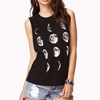 Moon Cycle Muscle Tee