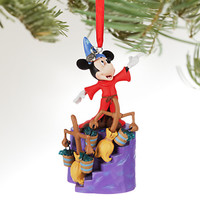 Disney Store 2016 Mickey Sorcerer Sketchbook Christmas Ornament New with Tags