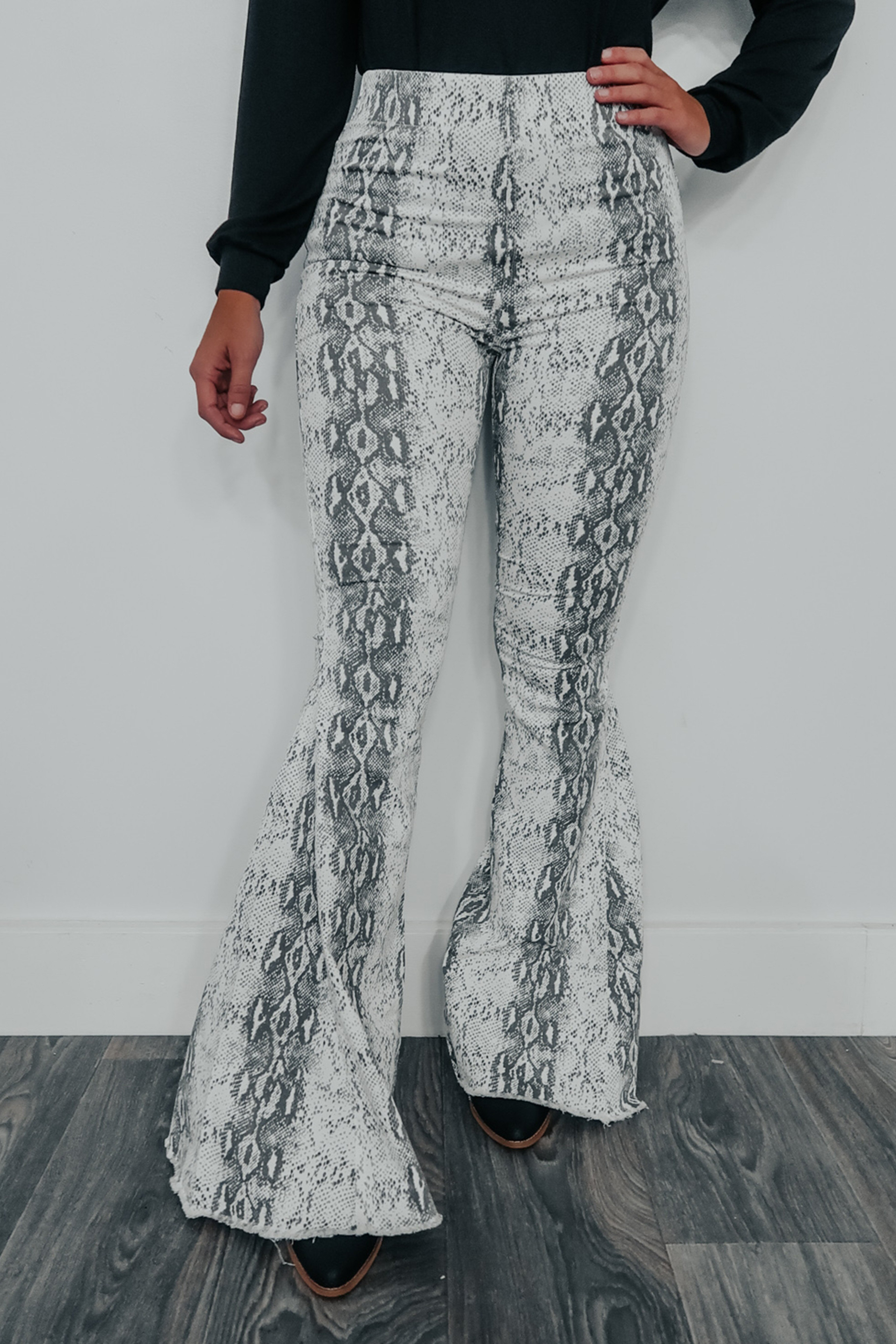 Image of Taking Chances Bell Bottoms: Multi