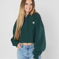 Champion® Reverse Weave Cropped Sweatshirt - Women's Sweatshirts in Lakeside Green | Buckle