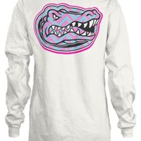 Florida Gators Juniors Chevron Print Sweatshirt | Bealls Florida