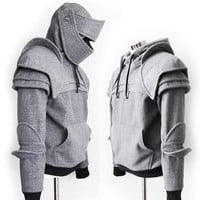 Duncan Armored Knight Hoodie(100% Handmade) Made To Order