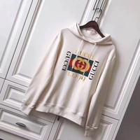 gucci women man snake sequins embroidery top sweater pullover hoodie-1