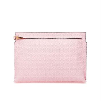 Engraved Calf Leather Pouch - LOEWE