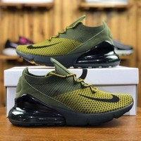 Nike Air Max 270 Flyknit AO1023-003 Sport Running Shoes - Best Online Sale