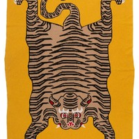 Tiger Rug Cashmere Throw