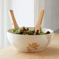 Botanical Wax Resist Serving Bowl | Urban Outfitters