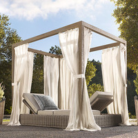 Provence Canopy Double Chaise