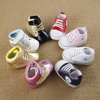 Newborn First Walkers Soft Sole Anti-slip Prewalker Shoes
