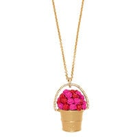 Kate Spade Rosy Outlook Pendant Red Multi ONE