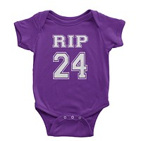 RIP Rest In Peace 24 Infant One-Piece Romper Bodysuit
