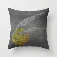 Harry Potter Movie Art Print -The Sorcerer's Stone Throw Pillow by Skahfee Studios