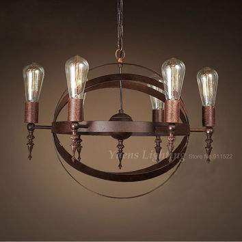 Vintage Wrought Iron Antique Lighting