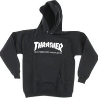 Thrasher Skate Mag Hoody/Sweater XLarge Black/White