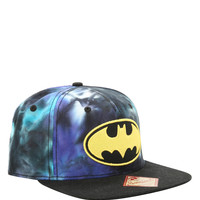 DC Comics Batman Blue Tie Dye Snapback Hat