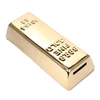 Gold Bar Mini Savings Bank