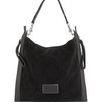 Zip That Suede Hobo Bag, Black - MARC by Marc Jacobs