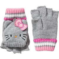 Old Navy Girls Hello Kitty Covertible Gloves Size L - Earl gray